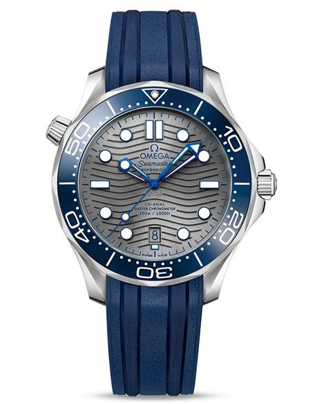 Omega Seamaster Professional Diver 300M 2018 blue pvd chrome