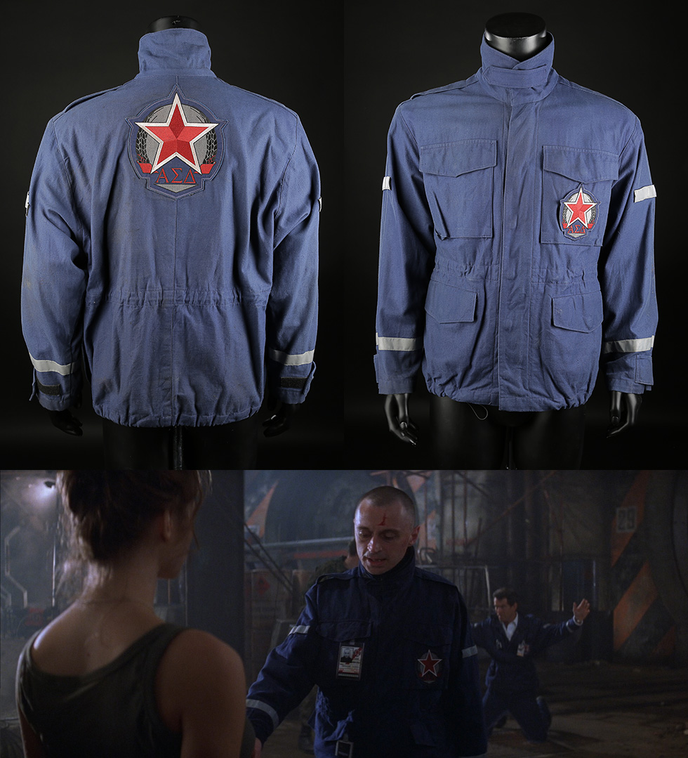 Renard Robert Carlyle Nuclear Silo Jacket the world is not enough