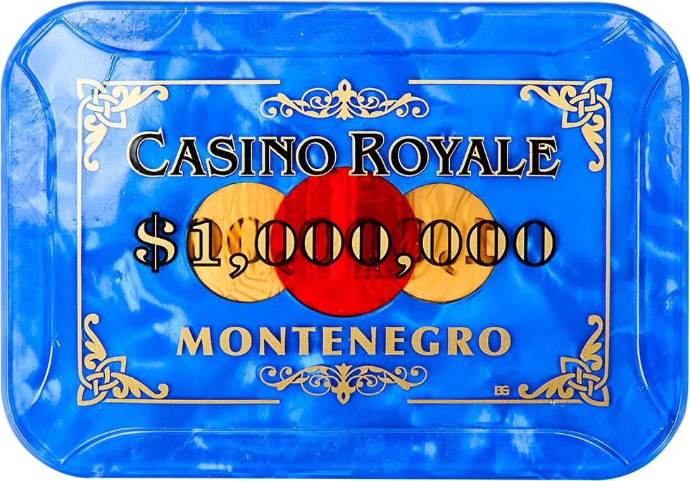 $1000000 Montenegro Casino Royale Chip