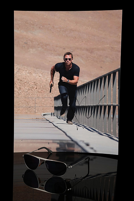 James Bond Daniel Craig Tom Ford FT108 Sunglasses auction