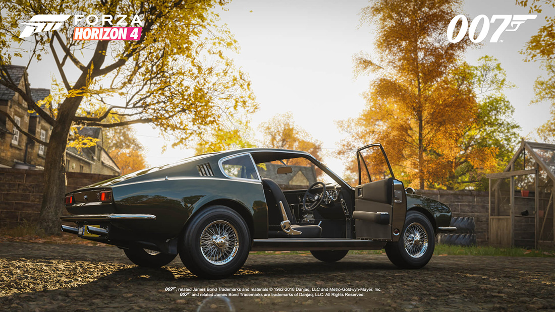 Forza Horizon 4 Ultimate Edition To Feature 10 James Bond Cars Bond Lifestyle