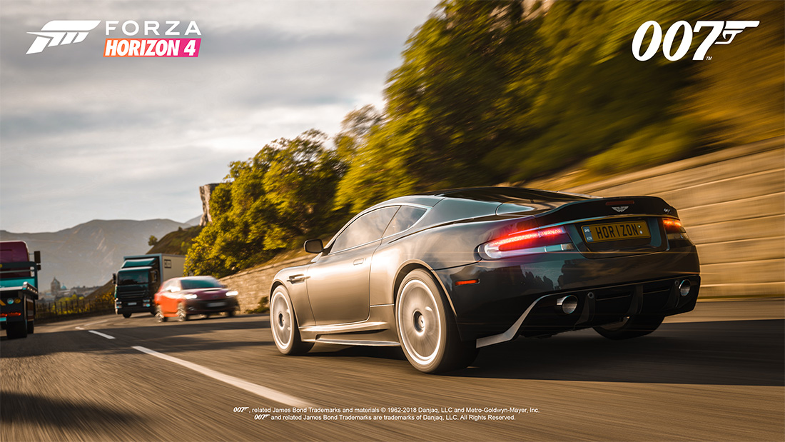 Forza Horizon 4 Ultimate Edition To Feature 10 James Bond