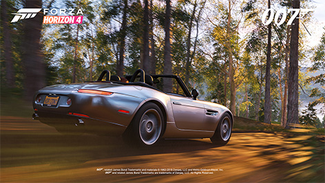 Forza Horizon 4 Ultimate Edition James Bond car pack BMW Z8