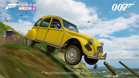 Forza Horizon Ultimate Edition James Bond Pack Amc Citroen Cv
