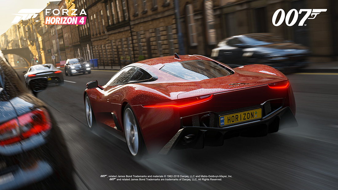 forza horizon 4 ultimate edition to feature 10 james bond. Black Bedroom Furniture Sets. Home Design Ideas