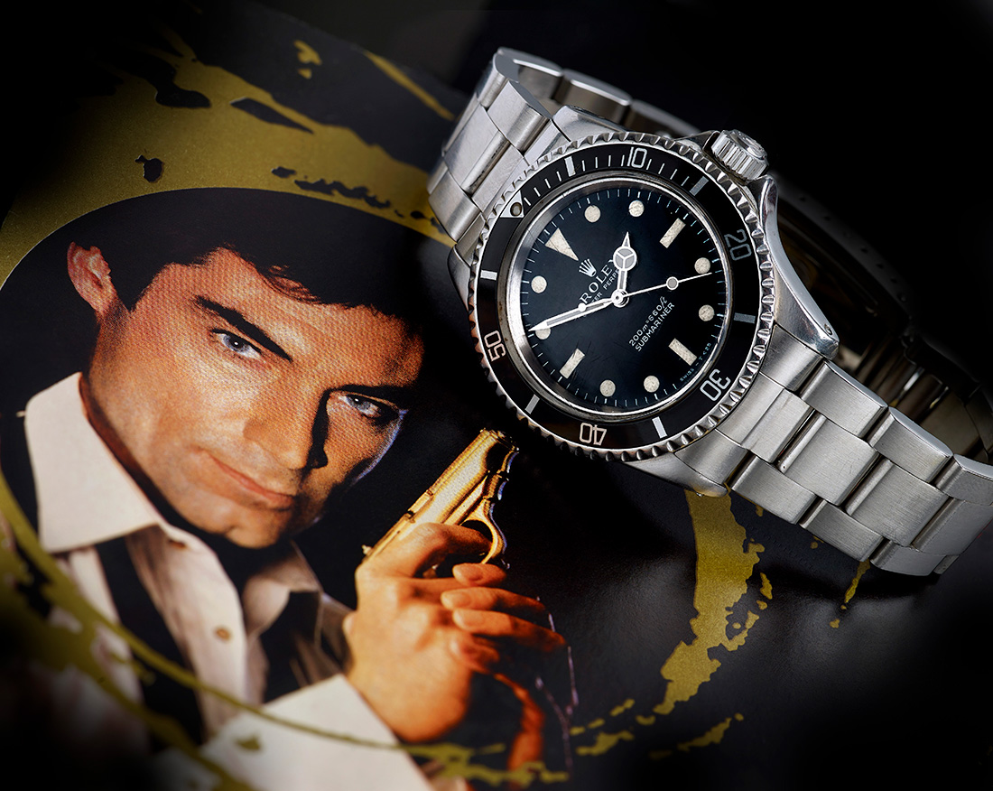 Licence To Kill James Bond Rolex Submariner on auction ...