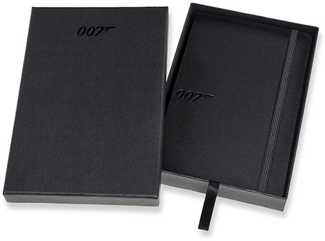 Moleskine 007 Limited Edition Collector's Box