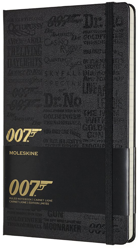 Moleskine 007 Limited Edition Notebook - Movies