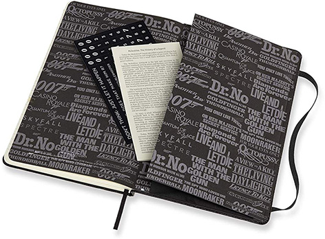 Moleskine 007 Limited Edition Notebook - Movies inside