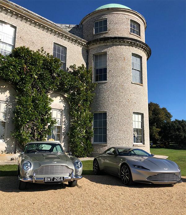 Spot The Seven James Bond Aston Martins In London On