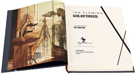 Goldfinger Folio Society Ian Fleming Faye