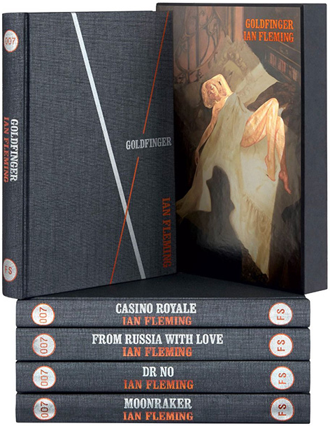 folio covers casino royale from russia with love moonraker goldfinger