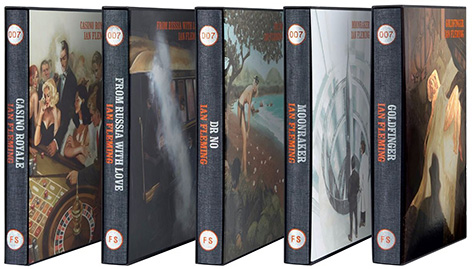 Folio Society Ian Fleming James Bond series