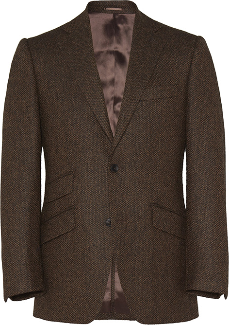 James Bond Goldfinger barleycorn jacket Mason Sons