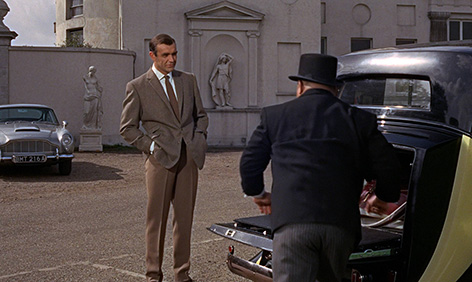 Sean Connery Goldfinger trousers jacket