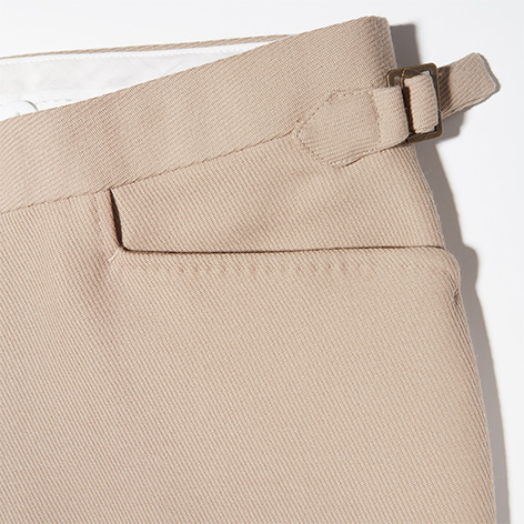 James Bond Goldfinger trousers pockets cavalry twill