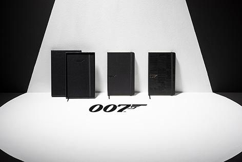 Moleskine 007 James Bond notebooks