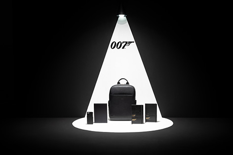 Moleskine 007 James Bond collection backpack notebookphone cover