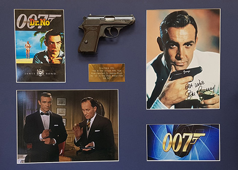 Walther PPK auction Humbert Ellis prop James Bond Dr No