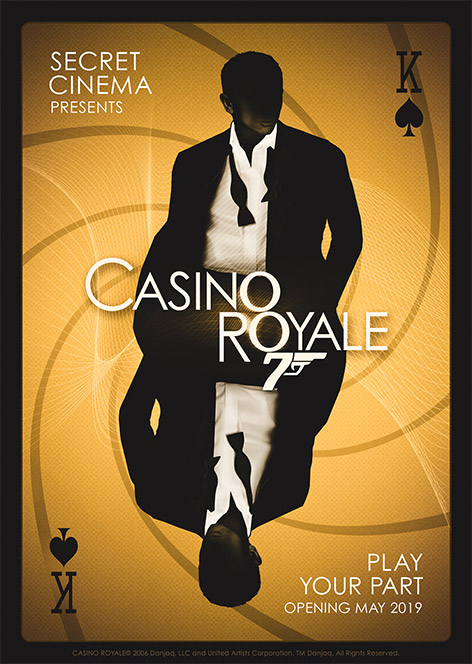 Secret Cinema Casino Royale James Bond London experience tickets