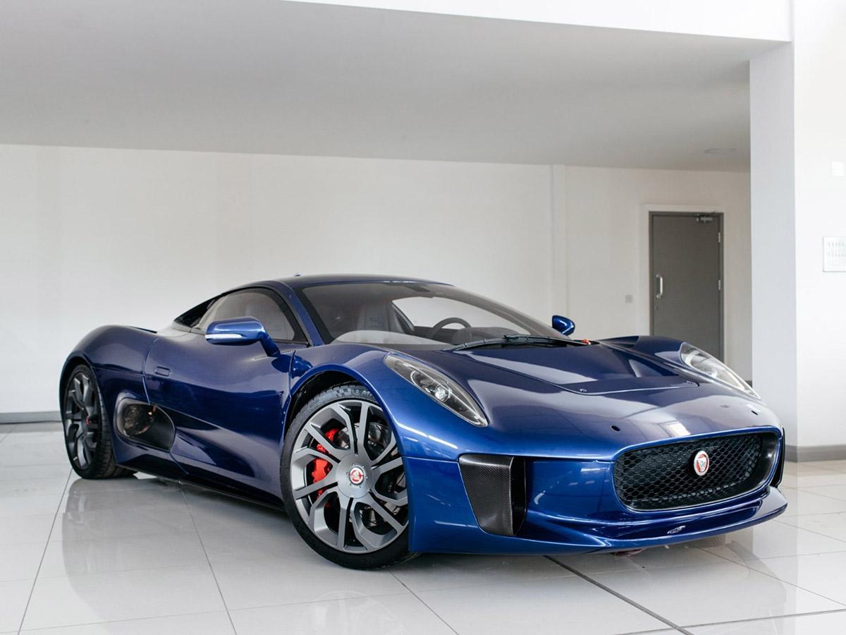 Jaguar C-X75 SPECTRE Stunt Car For Sale