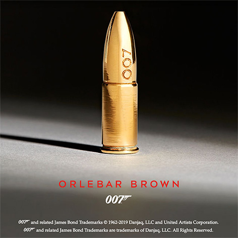 Orlebar Brown 007 collection bullet teaser