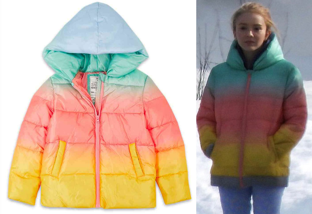 Marks & Spencer Ombre Padded Coat with Stormwear Bond 25 girl Norway