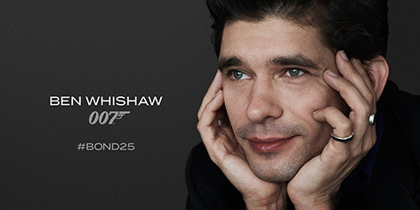 Ben Whishaw Bond 25