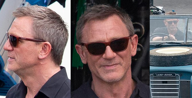 Daniel Craig James Bond 25 Vuarnet 06 sunglasses Jamaica