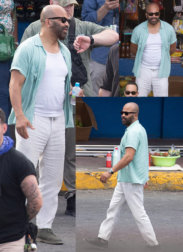 Felix Leiter Jeffrey Wright Bond 25 Jamaica