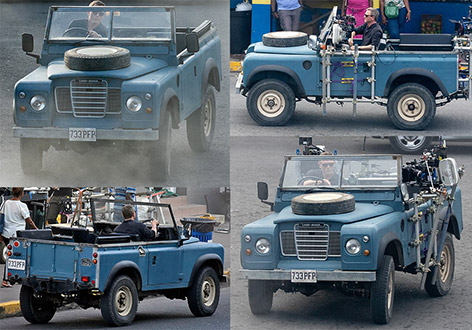 Land Rover Series III Daniel Craig Port Antonio Jamaica Bond 25