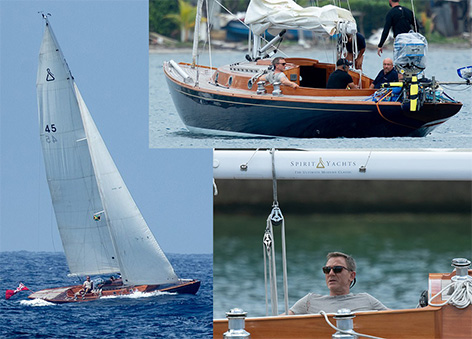 James Bond 25 Spirit Yacht 45 Jamaica Daniel Craig