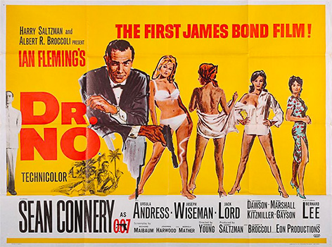 Dr No poster auction