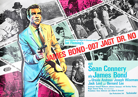 James Bond Dr No poster auction Germany Deutschland