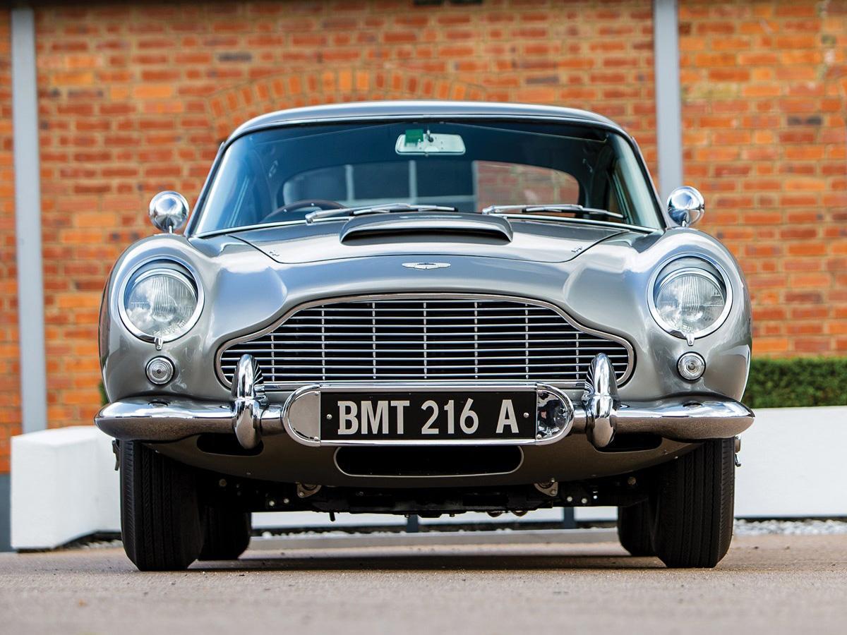 Original James Bond Aston Martin Db5 Chassis Db5 2008 R On Auction In Monterey Bond Lifestyle