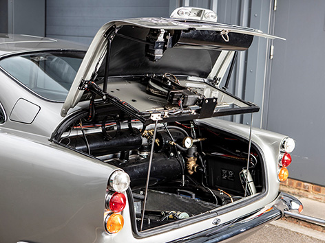 Aston Martin DB5 Goldfinger Thunderball auction RM Sothebys gadgets