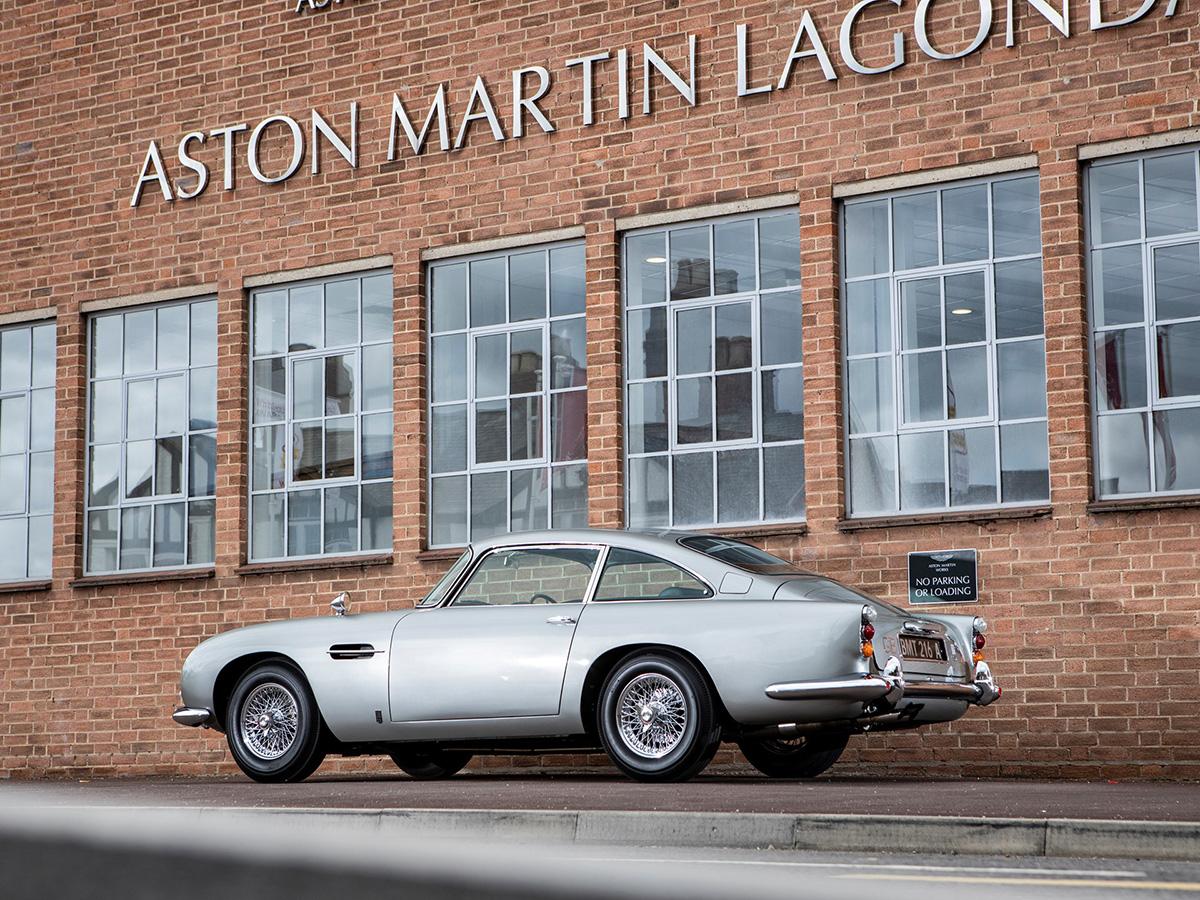 Original James Bond Aston Martin Db5 Chassis Db5 2008 R On Auction In Monterey Freddythefox Net
