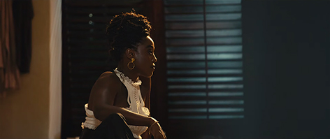 Nomi Lashana Lynch Bond 25 set behind the scenes