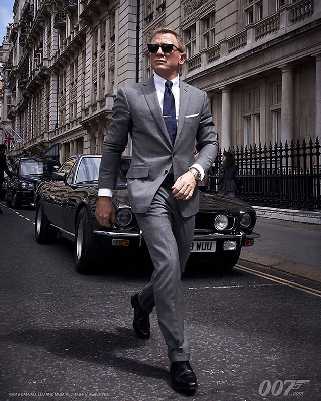 Tom Ford Suit Barton Perreira sunglasses James Bond whitehall London