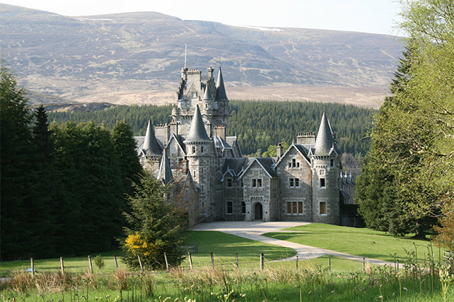 BOND 25 Scotland Ardverikie House