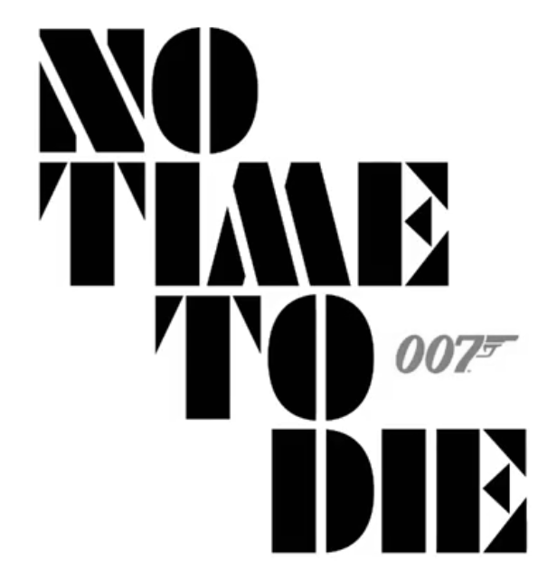 No Time To Die logo James Bond 25
