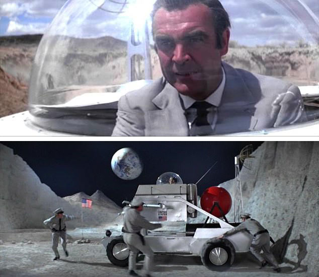 Moon Buggy Diamonds Are Forever Sean Connery James Bond