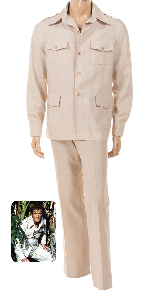 octopussy roger moore safari suit james bond