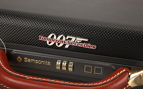 Samsonite 007 Tomorrow never Dies briefcase