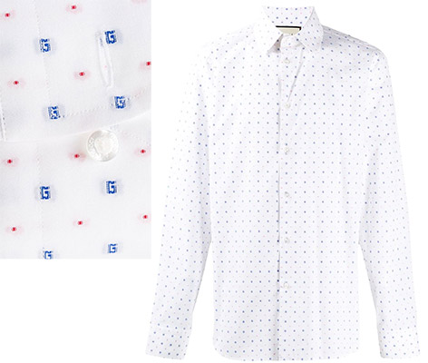 Gucci G dot Oxford shirt Cary Fukunaga