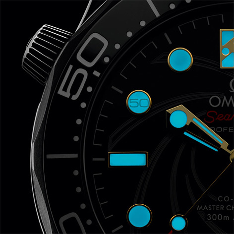 Omega Seamaster Limited Edition 50 James Bond 007 marker luminescent