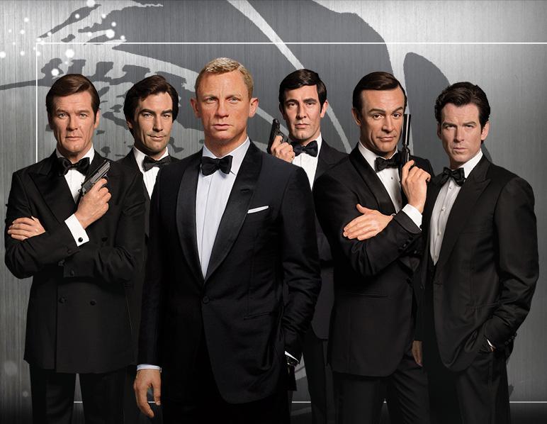Alle James Bonds