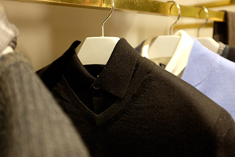 NPeal James Bond 007 Collection black outfit goldfinger london store preview
