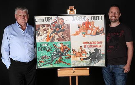 Over 460 lots from the Adam Carter-Jones James Bond Poster Collection to be auctioned