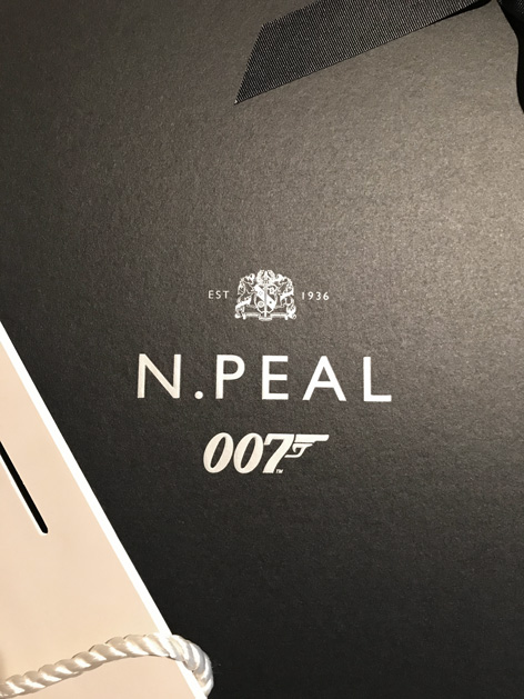 NPeal packaging 007 bag box collection James Bond